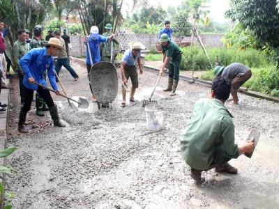 Đồn Biên phòng Bắc Sơn:  Xây dựng nông thôn mới là xây dựng thế trận lòng dân nơi biên giới