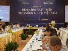 Tiềm năng phát triển thị trường khí tại Việt Nam