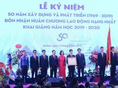 Đại học Kiến trúc Hà Nội kỷ niệm 50 năm xây dựng phát triển và đón nhận Huân chương Lao động hạng Nhất