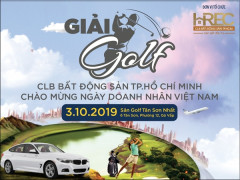 Giải golf HREC mừng ngày Doanh nhân Việt Nam 2019