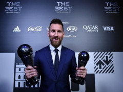 Messi giành giải 'The Best' của FIFA