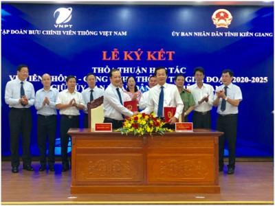 VNPT giúp Kiên Giang trở thành chính quyền điện tử, đô thị thông minh kiểu mẫu
