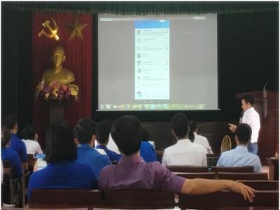 Đoàn thanh niên Liên ngành Điện lực Quỳnh Phụ triển khai các dịch vụ chăm sóc khách hàng
