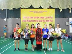 Trường ĐH Kinh doanh và Công nghệ Hà Nội tổ chức giải các môn thể thao  Chào mừng ngày Nhà giáo Việt Nam 20/11