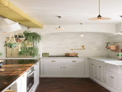 Những ý tưởng thiết kế ấn tượng cho phòng bếp tông trắng