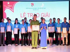 Đoàn thanh niên Công an Đắk Lắk giành giải nhất thi hát dân ca