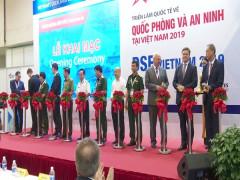 Khai mạc Triển lãm Quốc tế về Quốc phòng và An ninh tại Việt Nam 2019