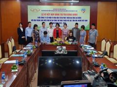 Ký kết tài trợ cho Đề án tổng thể phát triển thể lực, tầm vóc người Việt Nam giai đoạn 2011 - 2030