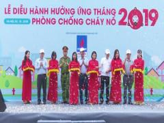 Đạp xe diễu hành hưởng ứng Tháng phòng chống cháy nổ 2019
