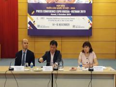 Triển lãm quốc tế Việt – Nga và Diễn đàn xúc tiến thương mại và đầu tư Việt – Nga 2019