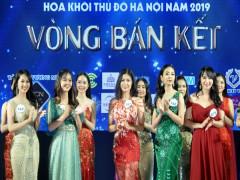 Bán kết Hoa khôi Thủ đô Hà Nội 2019: 39 người đẹp vào vòng chung kết