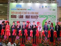 Chính thức khai mạc Growtech Viet Nam 2019