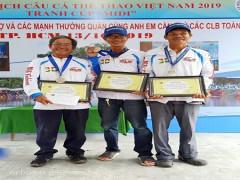 Giải vô địch câu cá thể thao Việt Nam năm 2019 tranh cúp MIDI
