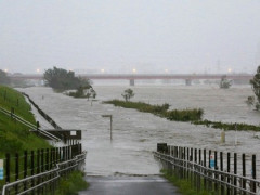 Nhật Bản cứu trợ tàu bị đắm do bão Hagibis, trong đó có người Việt