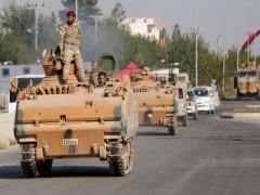 Quân Chính phủ Syria triển khai dọc biên giới với Thổ Nhĩ Kỳ