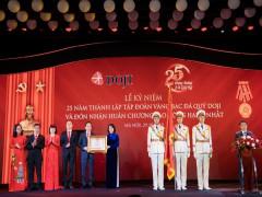 Lễ Kỷ niệm 25 năm thành lập Tập đoàn Vàng bạc Đá quý DOJI và đón nhận Huân chương Lao động hạng Nhất