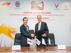 VinFast trở thành nhà tài trợ chính cho chặng đua Công thức 1 Việt Nam