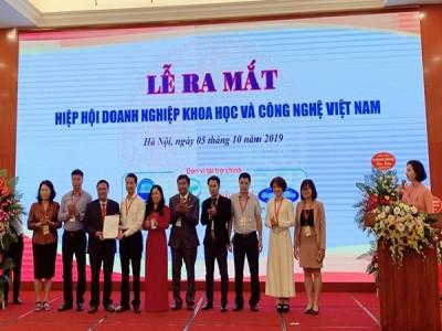 Chính thức ra mắt Hiệp hội Doanh nghiệp khoa học và công nghệ Việt Nam
