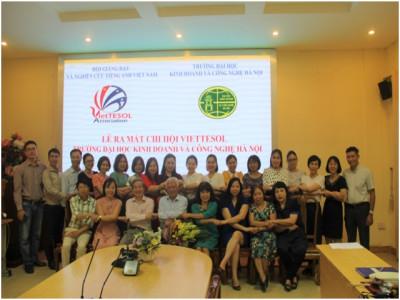 Khoa Ngôn ngữ Anh trở thành thành viên của Phân hội Nghiên cứu và Giảng dạy tiếng Anh  (VietTESOL)
