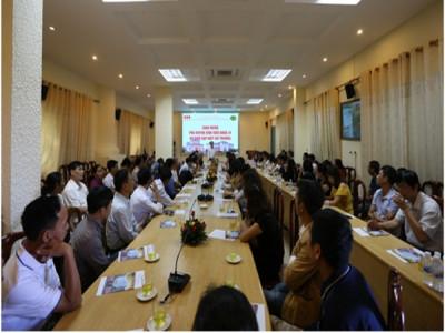 Trường ĐH Kinh doanh và Công nghệ Hà Nội gặp mặt phụ huynh sinh viên K24