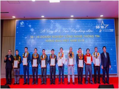 FSI được vinh danh Top 10 doanh nghiệp có năng lực công nghệ 4.0 tiêu biểu