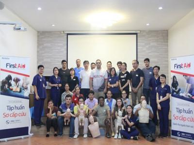 Trường Song ngữ Quốc tế Horizon tập huấn kỹ năng cấp cứu cho 100% giáo viên giảng dạy tại trường
