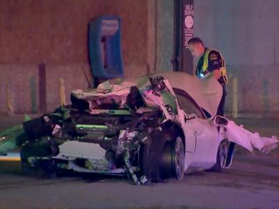 Vụ tai nạn kinh hoàng của nhà vô địch quyền anh chứng tỏ siêu xe Ferrari 488 Spider rất an toàn