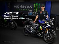 Sport bike Yamaha R3 2020 ra mắt phiên bản màu mới với tem MotoGP