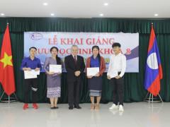 Khai giảng khóa VIII Lưu học sinh nước CHDCND Lào  - Năm học 2019 - 2020