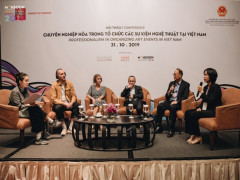 Hội thảo Chuyên nghiệp hóa trong tổ chức các sự kiện nghệ thuật tại Việt Nam