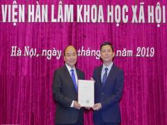 Thủ tướng giao 5 nhiệm vụ lớn cho tân Chủ tịch Viện Hàn lâm KHXH Việt Nam