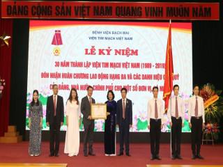Viện Tim mạch Việt Nam – Hành trình 30 năm xây dựng và phát triển