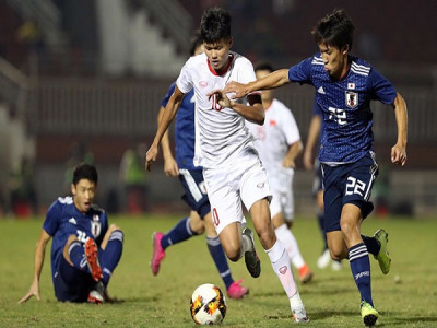U19 Việt Nam hòa U19 Nhật Bản