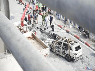 Hé lộ danh tính nữ tài xế lái Mercedes gây tai nạn chết người, cháy 4 chiếc xe tại Lê Văn Lương
