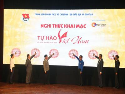 """Chính thức phát động Cuộc thi """"Tự hào Việt Nam"""" lần thứ III năm học 2019 - 2020"""