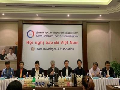"""Họp báo """"Lễ hội văn hóa ẩm thực Việt Nam – Hàn Quốc 2019"""""""