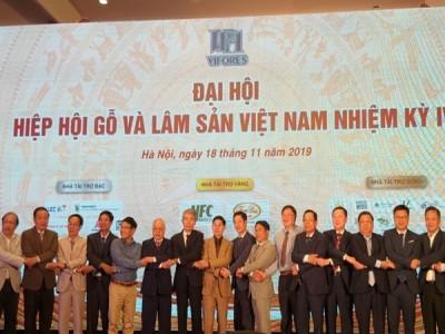 Đại hội Hiệp hội Gỗ và Lâm sản Việt Nam nhiệm kỳ IV
