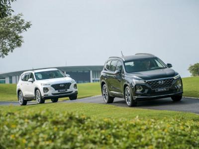 """Tăng sức bán trong tháng 10, """"đầu tàu"""" Hyundai Santa Fe kéo doanh số TC Motor đi lên"""