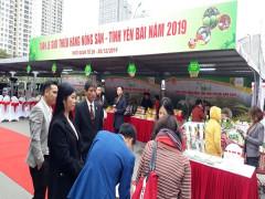 Nông sản chất lượng cao Yên Bái về Big C Thăng Long phục vụ người tiêu dùng Thủ đô đón Tết