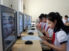 Ứng dụng CNTT trong giáo dục để xây dựng xã hội học tập