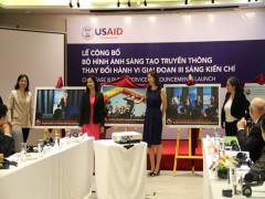 USAID công bố hình ảnh và thông điệp truyền thông mới nhằm chấm dứt việc sử dụng trái phép sừng tê giác