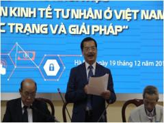 Hội thảo khoa học về Phát triển kinh tế tư nhân ở Việt Nam: Thực trạng và giải pháp