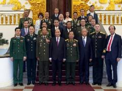 Thủ tướng nêu rõ chính sách quốc phòng Việt Nam mang tính chất hòa bình, tự vệ