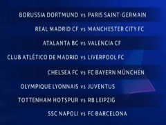 Vòng 1/8 Champions League: Real Madrid đụng Man City