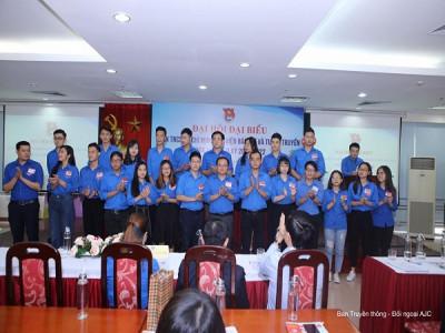 Đồng chí Thái Hồng Đức được bầu là Bí thư Đoàn TNCS Hồ Chí Minh Học viện Báo chí và Tuyên truyền, Khóa XI, nhiệm kì 2019 - 2022