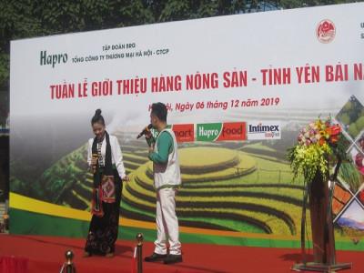 Nhiều đặc sản Yên Bái có mặt tại các siêu thị Hà Nội