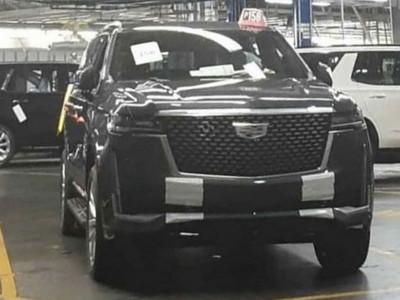 SUV hạng sang cỡ lớn Cadillac Escalade 2021 lộ