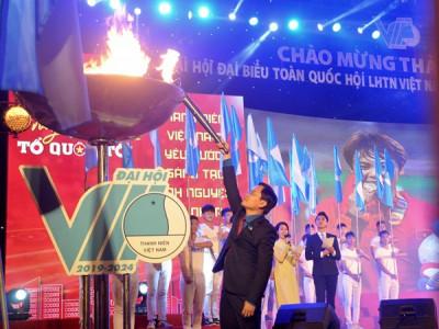 Thanh niên Thủ đô chào mừng thành công Đại hội đại biểu Hội LHTN Việt Nam