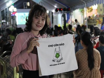 Côn Đảo - Nói không với túi ni lông và Hướng đến mục tiêu không rác thải nhựa