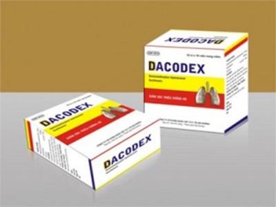 Thu hồi toàn quốc Viên nang mềm Dacodex vi phạm mức độ 3